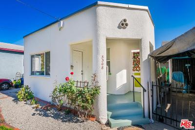 Los Angeles Single Family Home For Sale: 3308 Marguerite Street