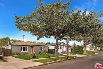 Culver City Single Family Home For Sale: 4063 Bledsoe Avenue