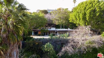Los Angeles Single Family Home Active Under Contract: 11001 West Sunset