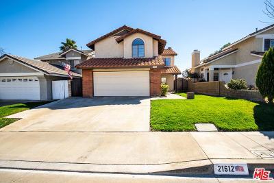 Saugus Single Family Home For Sale: 21612 Farmington Lane
