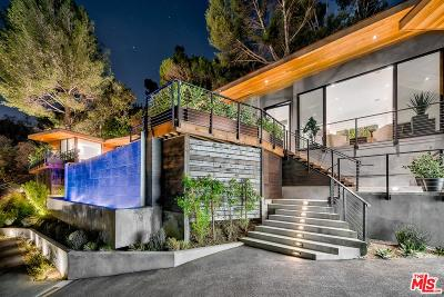Single Family Home For Sale: 727 North Beverly Glen