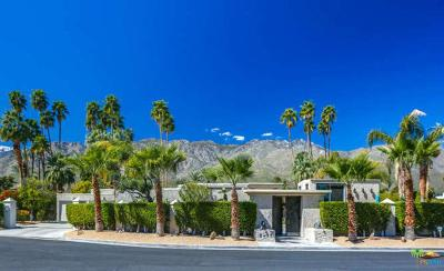 Palm Springs Single Family Home For Sale: 2497 South Caliente Drive