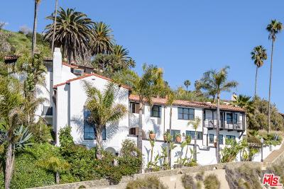 Pacific Palisades Single Family Home For Sale: 17720 Porto Marina Way