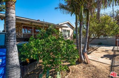 Inglewood Single Family Home Active Under Contract: 4845 Lennox