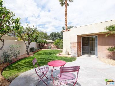 Palm Springs Condo/Townhouse For Sale: 1639 North Sunflower Court