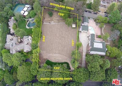 Los Angeles County Residential Lots & Land For Sale: 1004 North Rexford Drive