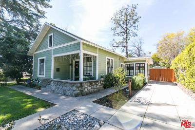 Pasadena Single Family Home For Sale: 1093 North Catalina Avenue