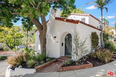 Los Angeles Single Family Home For Sale: 1820 Courtney Terrace