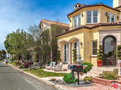 Manhattan Beach Single Family Home For Sale: 473 34th Street