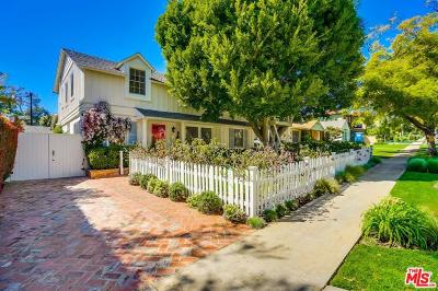 Pacific Palisades Single Family Home For Sale: 927 Kagawa Street