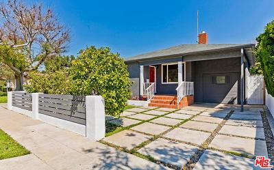 Culver City Single Family Home For Sale: 4348 Moore Street