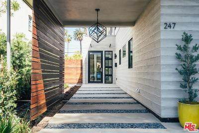 Santa Monica Single Family Home For Sale: 247 20th Street