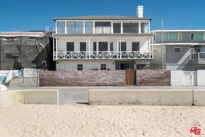 Hermosa Beach Single Family Home For Sale: 3033 The Strand
