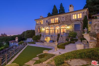 Palos Verdes Estates Single Family Home For Sale: 705 Via La Cuesta