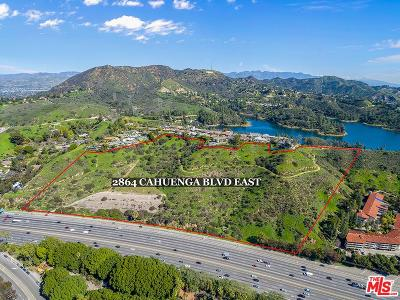 Residential Lots & Land For Sale: 2864 Cahuenga Boulevard