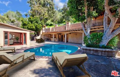Beverly Hills Single Family Home For Sale: 1324 Benedict Canyon Drive