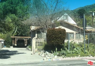 Tujunga Single Family Home For Auction: 7129 Hillrose Street
