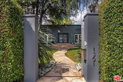 West Hollywood Single Family Home For Sale: 1301 North Orange Grove Avenue