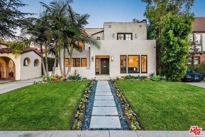 Los Angeles Single Family Home For Sale: 630 North Las Palmas Avenue