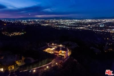 Beverly Hills Single Family Home For Sale: 13319 Mulholland Drive