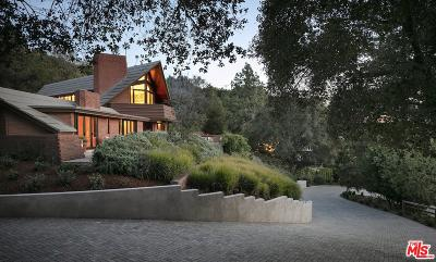Pacific Palisades Single Family Home For Sale: 14148 Rustic Lane