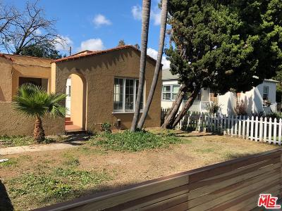 Single Family Home For Sale: 11285 Sardis Avenue