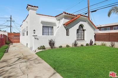 Los Angeles Single Family Home For Sale: 1815 West 83rd Street