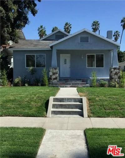 Los Angeles Single Family Home For Sale: 5206 South Wilton Place