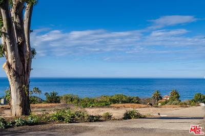 Malibu CA Residential Lots & Land Active Under Contract: $3,800,000