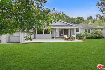 Studio City Single Family Home For Sale: 10895 Willowcrest Place