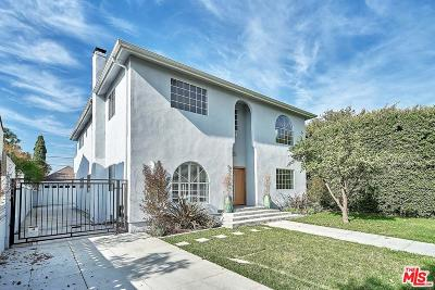 Los Angeles Single Family Home For Sale: 851 South Cloverdale Avenue