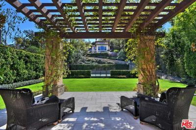 Encino Single Family Home For Sale: 17625 Hidden Oaks Road