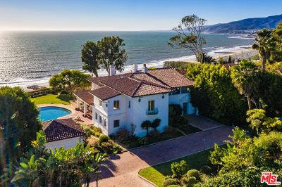Pacific Palisades Single Family Home For Sale: 15060 Corona Del Mar
