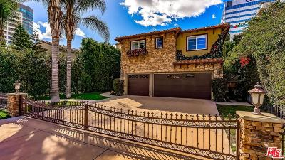 Sherman Oaks Single Family Home For Sale: 4645 Halbrent Avenue