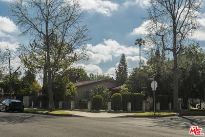 Sherman Oaks Single Family Home Active Under Contract: 5758 Willis Avenue