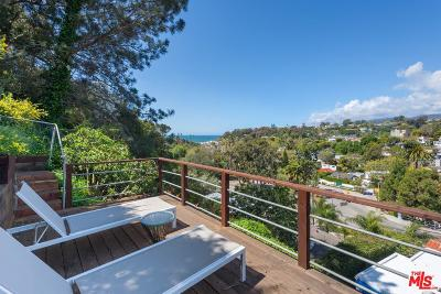 Santa Monica Single Family Home For Sale: 392 Entrada Drive