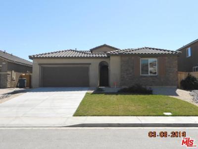 Rosamond Single Family Home Active Under Contract: 3410 Arrowhead Court