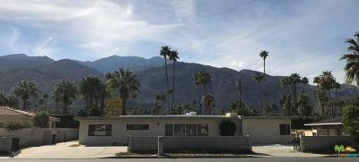 Palm Springs Single Family Home For Sale: 1331 South Sunrise Way