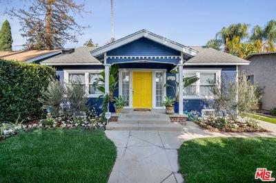 Los Angeles County Single Family Home Active Under Contract: 7715 Lexington Avenue