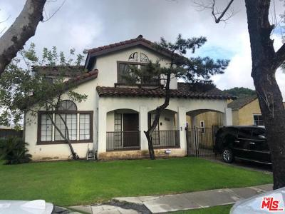 Los Angeles CA Single Family Home For Sale: $600,000