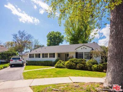 Valley Village Single Family Home For Sale: 12756 Weddington Street