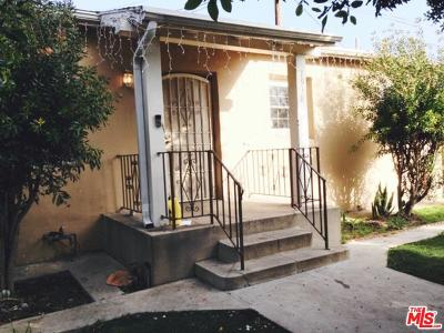 Los Angeles Single Family Home For Sale: 1938 Carmona Avenue