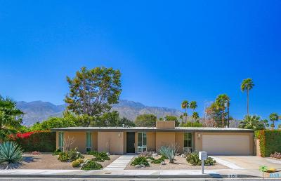 Palm Springs Single Family Home For Sale: 315 North Orchid Tree Lane