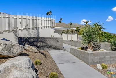 Palm Springs Single Family Home Active Under Contract: 3035 Goldenrod Lane
