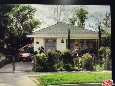 Single Family Home For Sale: 3444 Plata Street