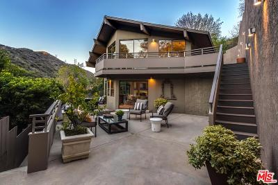 Los Angeles Single Family Home For Sale: 3386 Mandeville Canyon Road
