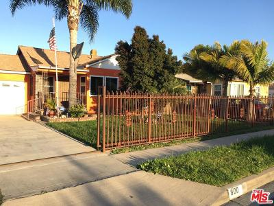 Compton Single Family Home Active Under Contract: 800 North Dwight Avenue
