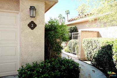 Rancho Mirage Condo/Townhouse For Sale: 2 La Ronda Drive