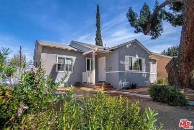 Encino Single Family Home Active Under Contract: 17313 Burbank