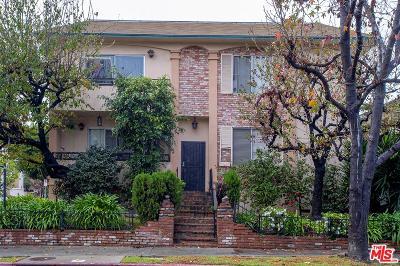 Los Angeles County Condo/Townhouse Active Under Contract: 11867 Idaho Avenue #3